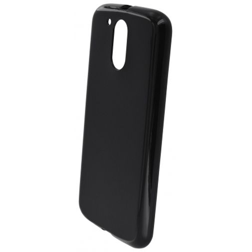 Mobiparts Essential TPU Case Black Motorola Moto G4/G4 Plus