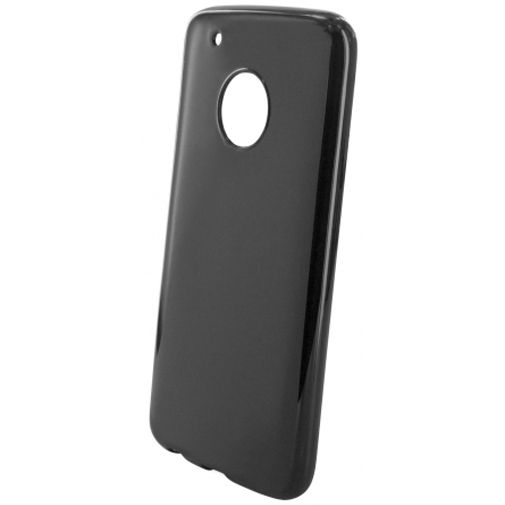 Mobiparts Essential TPU Case Black Motorola Moto G5 Plus