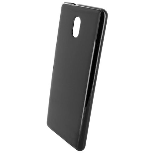 Mobiparts Essential TPU Case Black Nokia 3