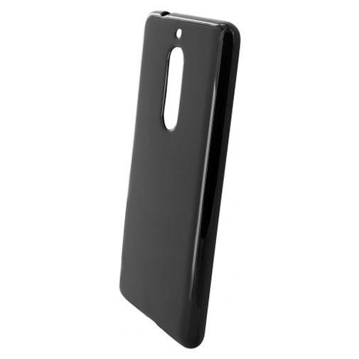 Mobiparts Essential TPU Case Black Nokia 5