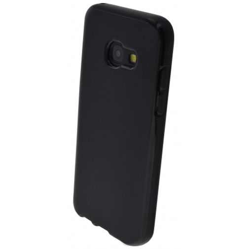 Mobiparts Essential TPU Case Black Samsung Galaxy A3 (2017)