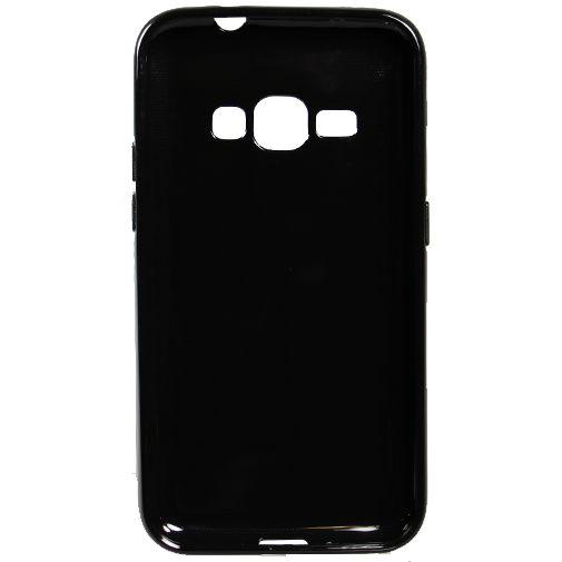 Mobiparts Essential TPU Case Black Samsung Galaxy J1 (2016)