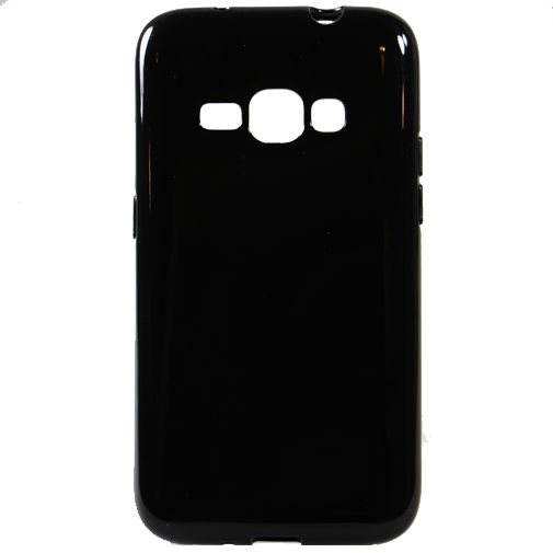 Mobiparts Essential TPU Case Black Samsung Galaxy J1 (2016)