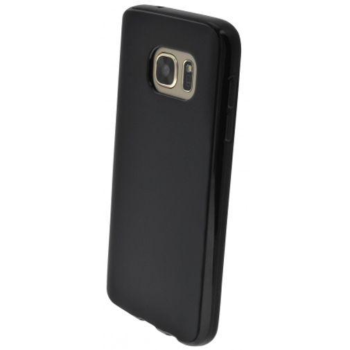 Productafbeelding van de Mobiparts Essential TPU Case Black Samsung Galaxy S7