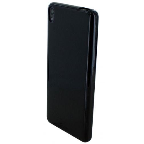 Mobiparts Essential TPU Case Black Sony Xperia E5