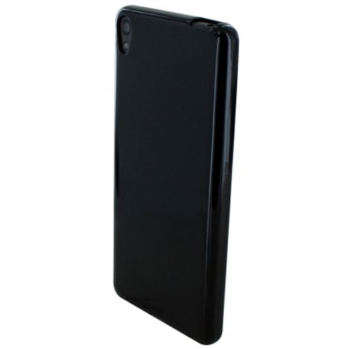 Mobiparts Essential TPU Case Black Sony Xperia E5