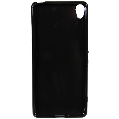 Mobiparts Essential TPU Case Black Sony Xperia XA
