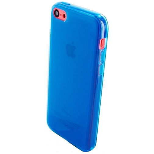 Mobiparts Essential TPU Case Blue Apple iPhone 5C