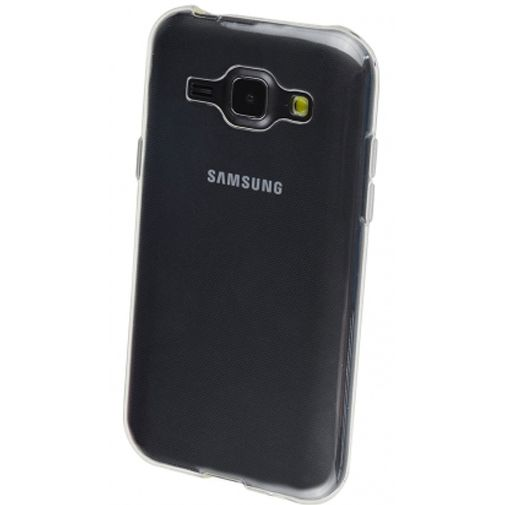 Productafbeelding van de Mobiparts Essential TPU Case Transparent Samsung Galaxy J1