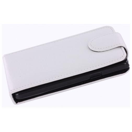 Mobiparts Flip Case White Samsung Galaxy SII