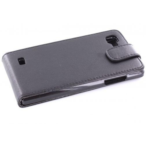 Mobiparts PU Flip Case LG Optimus 4X HD P880 Black