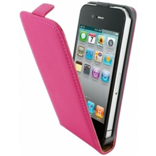 Mobiparts Premium Flip Case Apple iPhone 4/4S Pink