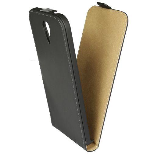 Mobiparts Premium Flip Case Black HTC Desire 620