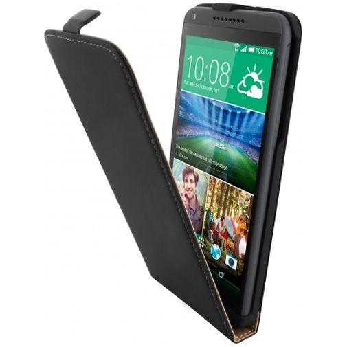 Mobiparts Premium Flip Case Black HTC Desire 816