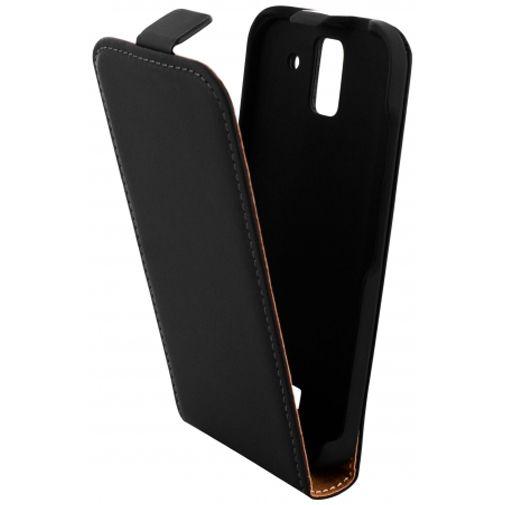 Mobiparts Premium Flip Case Black Huawei Y360
