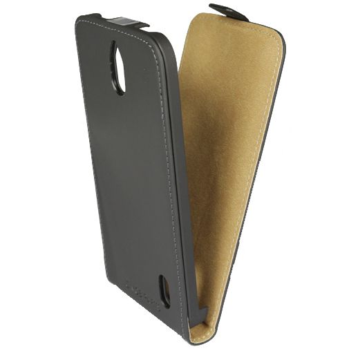 Mobiparts Premium Flip Case Black Huawei Y625