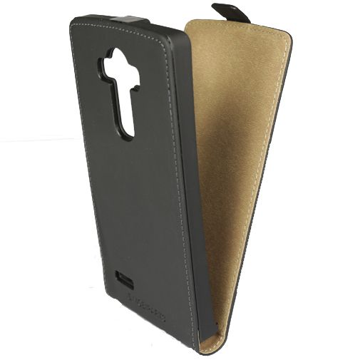 Mobiparts Premium Flip Case Black LG G4