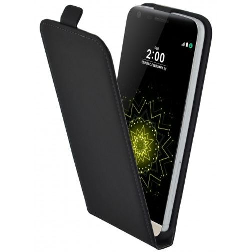 Mobiparts Premium Flip Case Black LG G5 (SE)
