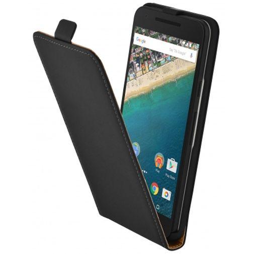 Mobiparts Premium Flip Case Black LG Nexus 5X