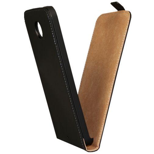 Mobiparts Premium Flip Case Black Motorola Nexus 6