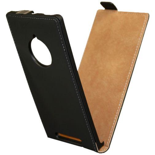 Productafbeelding van de Mobiparts Premium Flip Case Black Nokia Lumia 830