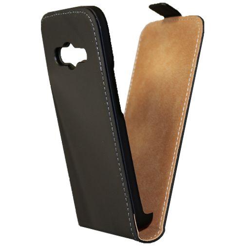 Mobiparts Premium Flip Case Black Samsung Galaxy A5