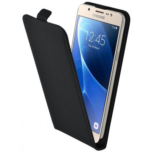 Mobiparts Premium Flip Case Black Samsung Galaxy J7 (2016)