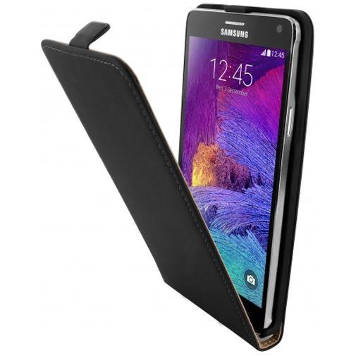 Mobiparts Premium Flip Case Black Samsung Galaxy Note 4