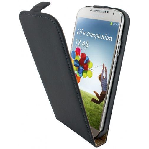 Mobiparts Premium Flip Case Black Samsung Galaxy S4