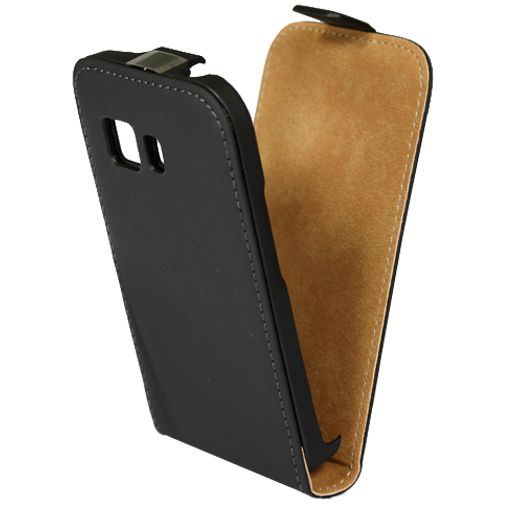 Mobiparts Premium Flip Case Black Samsung Galaxy Young 2