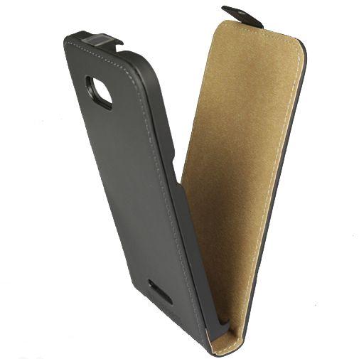 Mobiparts Premium Flip Case Black Sony Xperia E4G