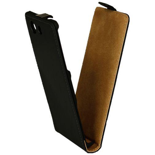 Mobiparts Premium Flip Case Black Sony Xperia Z3 Compact