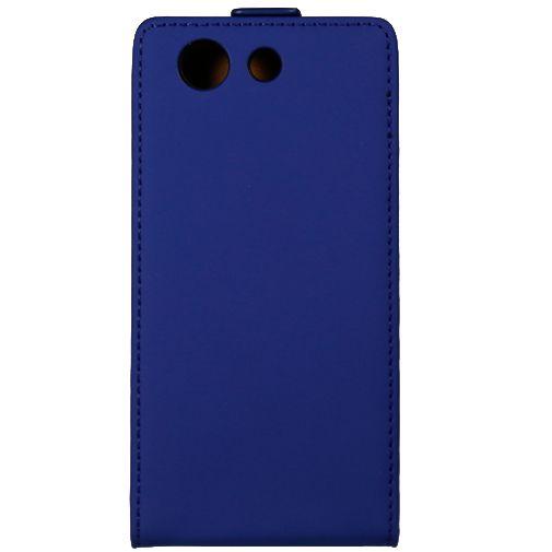 Mobiparts Premium Flip Case Blue Sony Xperia Z3 Compact
