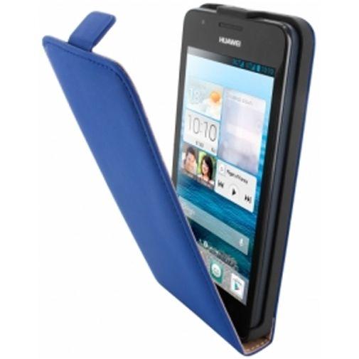 Mobiparts Premium Flip Case Huawei Ascend G525 Blue