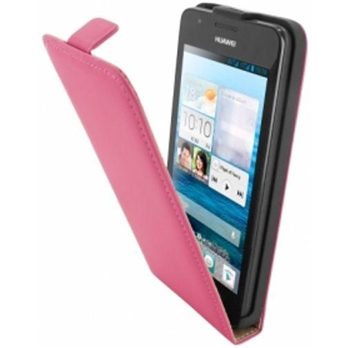 Mobiparts Premium Flip Case Huawei Ascend G525 Pink