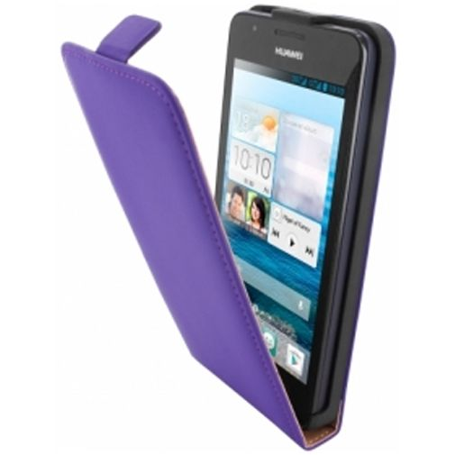 Mobiparts Premium Flip Case Huawei Ascend G525 Purple