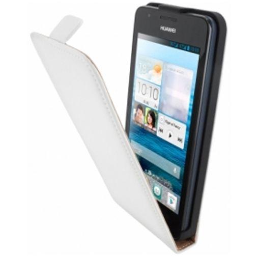 Mobiparts Premium Flip Case Huawei Ascend G525 White