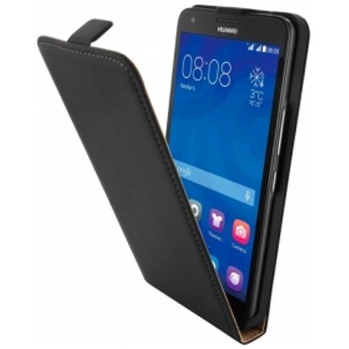 Mobiparts Premium Flip Case Huawei Ascend G750 Black