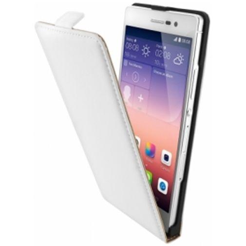 Mobiparts Premium Flip Case Huawei Ascend P7 White