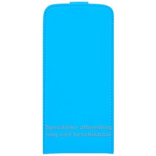 Mobiparts Premium Flip Case Light Blue Huawei P8 Lite