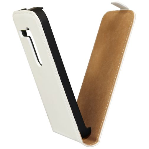 Mobiparts Premium Flip Case Motorola Moto G White