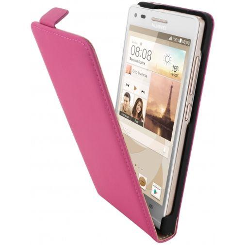 Mobiparts Premium Flip Case Pink Huawei Ascend G6 4G