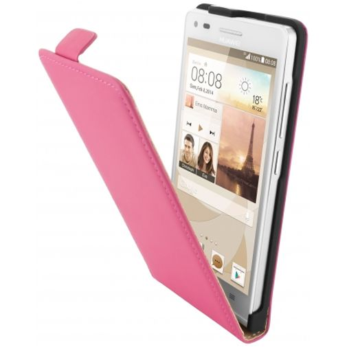 Mobiparts Premium Flip Case Pink Huawei Ascend G6