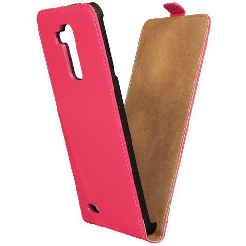 Mobiparts Premium Flip Case Pink Huawei Ascend Mate 7