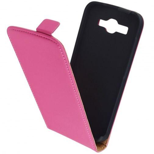 Mobiparts Premium Flip Case Pink Huawei Ascend Y540 Dual Sim