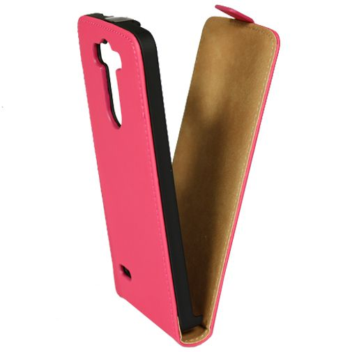 Mobiparts Premium Flip Case Pink LG G3 S