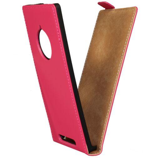Mobiparts Premium Flip Case Pink Nokia Lumia 830