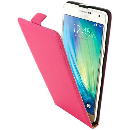 Mobiparts Premium Flip Case Pink Samsung Galaxy A7