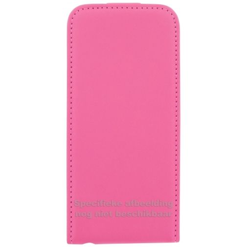Mobiparts Premium Flip Case Pink Samsung Galaxy Ace 4