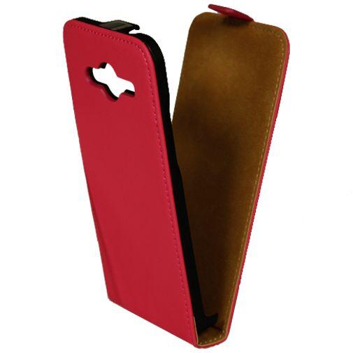 Mobiparts Premium Flip Case Pink Samsung Galaxy Core 2